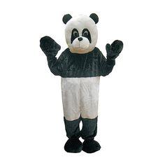 Panda Mascot Costume Set - Adult