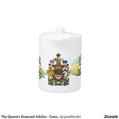 The Queen's Diamond Jubilee - Canada Teapot