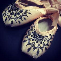'Dream Catchers' Energetiks Hand Decorated Pointe Shoes | by Elly Ford #energetiks