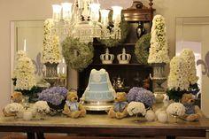 Chá de bebê com decoração chique | Tulipa Baby