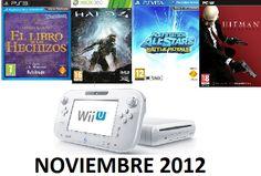 Videojuegos que veremos en noviembre