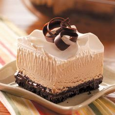 Mocha-Fudge Ice Cream Dessert