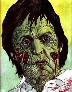Horror Society: Rob Sachettos Zombie Portraits