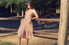 For the Love of Grace blush dress