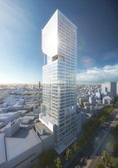 Gallery - Richard Meier Unveils 180-Meter Tower Development in Mexico - 9