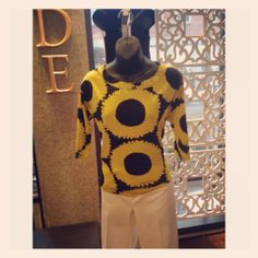 @Tracy Reese sunflower top