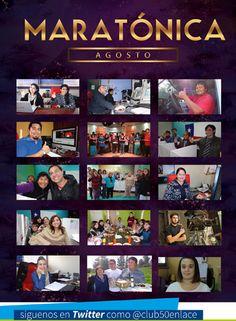 Nuestros colaboradores en Maratónica enlace Chile. Agosto 2014.