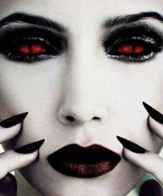 White Face Makeup Gothic - Yahoo Image Search Results