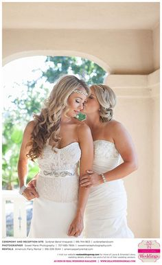 Featured Real Wedding: Laura & Amanda is published in Real Weddings Magazine's Summer/Fall 2015 Issue! Participating vendors include: www.sweetmariephotography.com, www.scribnerbend.com, www.americaspartyrental.com. For more photos and their full list of wedding vendors, visit: www.realweddingsmag.com/?p=52161