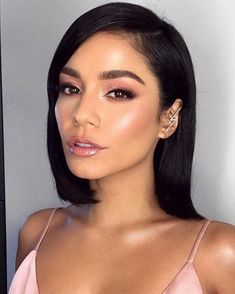 AMA's Pretty In Pink Vanessa Hudgens Hair By Makeup By Patrick T. - Hair & make-up & Accessoires - Makeup Trends, Makeup Inspo, Makeup Tips, Makeup Ideas, Makeup Tutorials, Makeup Goals, Makeup Products, Cabelo Vanessa Hudgens, Vanessa Hudgens Makeup