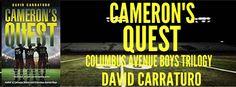 Tome Tender: David Carraturo Presents CAMERON'S QUEST Blitz & #...