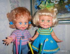 """""""Веселые полосатики!"""" Малышки фейсинки Galoob Baby Face. / Куклы Galoob Baby Face dolls / Бэйбики. Куклы фото. Одежда для кукол"""