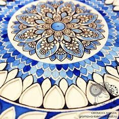 576 отметок «Нравится», 18 комментариев — @ksenyagromova в Instagram: «Детали. #мандала #графика #орнамент #узор #graphic #art #акварель #watercolor #mandala #ornament…»