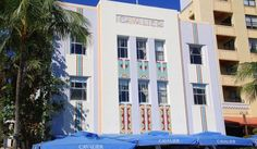 #FunFactFriday - There are more than 800 buildings that feature Art Deco Architecture in Miami Beach. This makes it the largest collection of this type of architecture in the entire world. The historic districts of Espanola Way Collins/Washington Avenues Flamingo Park and Museum make up the National Register Art Deco District. Photo cred: Shutterstock.com