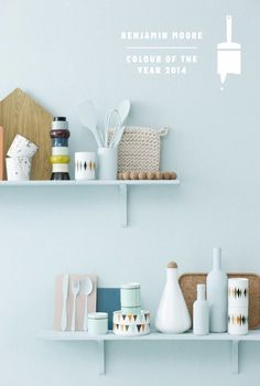 Ferm living: furniture with a danish twist blues дом, кухня, Deco Pastel, Pastel Blue, Teal Blue, Color Blue, Blue Green, Sweet Home, Benjamin Moore Colors, Breath Of Fresh Air, Deco Design