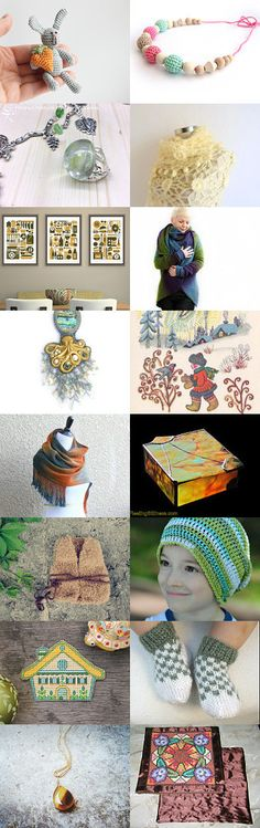 October news in treasury from Jelena DizArtEx on Etsy--Pinned with TreasuryPin.com #october #news #autumn #fall #gifts #decor #design