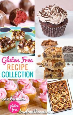 Gluten Free Baking Recipe Collection