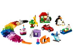 Create your own building fun with this great set for all ages!