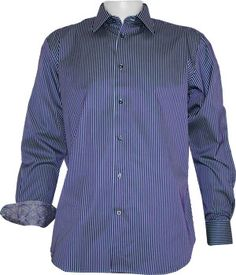 Luv luv the wrist trim. Wish it came in festive green... Robert Graham Alfie Rc Dress Shirt