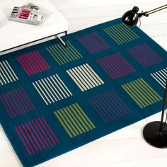 Flair Rugs Element Teal Rug – Next Day Delivery Flair Rugs Element Teal Rug from WorldStores: Everything For The Home Hall Runner, Teal Rug, Cheap Rugs, Modern Rugs, Kids Rugs, Delivery, Free Uk, Home Decor, Colour
