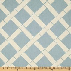 Screen printed on natural cotton duck; this versatile medium weight fabric is perfect for window accents (draperies, valances, curtains and swags), accent pillows, duvet covers and upholstery. Create handbags, tote bags, aprons and more. *Use cold water and mild detergent (Woolite). Drying is NOT recommended - Air Dry Only - Do not Dry Clean. Colors include natural and light blue.