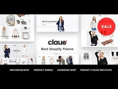 Claue Shopify Theme - Install and config demo 3