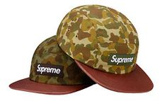 CAMO IS BACK! Great SUPREME cap!