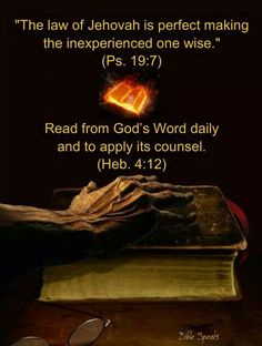 2 Timothy 3:. 16All Scripture is inspired of God and beneficial for teaching, for reproving, for setting things straight, for disciplining in righteousness, 17so that the man of God may be fully competent, completely equipped for every good work.