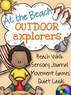 Incorporate sensory, writing, and play activities on your next field trip to the beach!  Go on a sensory walk, create sand art, write ocean themed poetry, and move like a swaying palm tree.  These beach writing activities can be easily incorporated into your language arts classroom, as well as in outdoor and summer education programs.This Product Includes:(1) My Beach Journal Cover Page(4) Beach Walk Pages Full of Sensory Activities(2) Beach Themed Lined Paper(8) Quiet Activity Task…