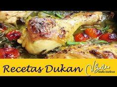 Adelgazar: Pollo a la Provenzal (Dieta Dukan Crucero) / Diet Provenzal Roast Chicken - YouTube