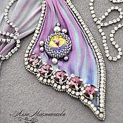 Beadlady Alla Maslennikova - Shibori und Perlenkunst, die mir gefällt! Gefunden auf livemaster.ru