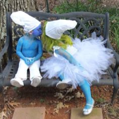 Perfect! Adrianna wants to be Smurfette this year :).