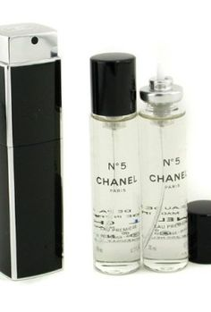 Eau Premiere Eau De Parfum Purse Spray And 2 Refills Chanel Collagen Beauty Cream, Essential Oil Perfume, Essential Oils, Chanel No 5, Elegant Sophisticated, Coco Mademoiselle, Perfume Bottles, Fragrance, Purses