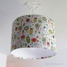 Simple Lampshade http://www.handimania.com/diy/simple-lampshade.html