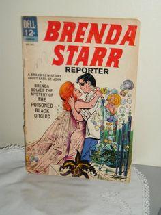 Comic Book       Sizzlin Hot     BRENDA STAR   DELL by BJMoore, $24.75