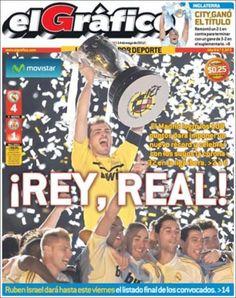 Prensa deportiva del 14 de mayo 2012 – Final de la Liga, Premier League y Scudetto