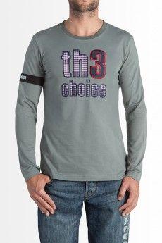 Camiseta Th3 Choice Logo Square Gris  57.00€