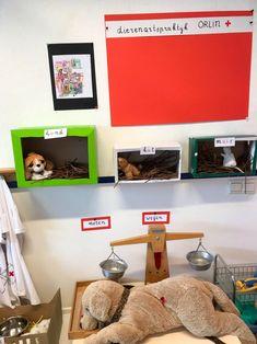 In de hoek: bij de dierenarts Class Pet, Pet Day, Home Schooling, Pet Health, Crafts For Kids, Scouting, Winter, Ideas, Blue Prints