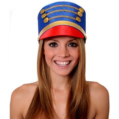 Blue Nutcracker / Toy Soldier Hat - I Love Fancy Dress Ugly Sweater Party, Ugly Christmas Sweater, Toy Soldier Costume, Majorette Uniforms, Nutcracker Costumes, Ballet Boys, Christmas Fancy Dress, Make Up Videos, Christmas Characters