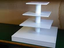 How to make a cupcake stand from a single sheet of plywood