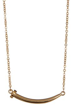 Gold Nailed it Necklace