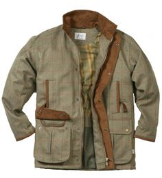 Waterproof, lightweight shooting jacket