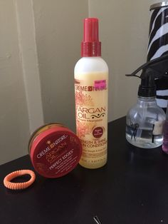 Crime of Nature Argan Oil Edge Control and Leave In Conditioner
