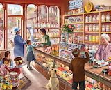 Old candy shop