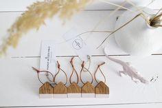 HOOSE brelok średni dąb / różowy - MANUFAKTURAMILO - Breloki do kluczy