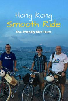 China Travel - Enjoy an Eco-Friendly Bicycle Tour in Hong Kong! ... See more @gr8traveltips #HongKong #Ecotours #Biketours #China