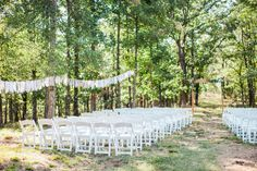 Vintage Outdoor Oklahoma Wedding Captured by Deisy Photography | Rachael + Isaac | Brides of Oklahoma #bridesofok #wedding #altar #oklahoma