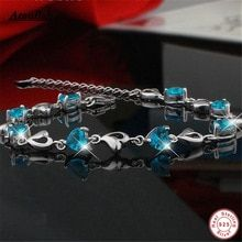 New 925 Trendy Wedding Bracelet Jewelry Real 925 Sterling Silver Natural Crystal Bracelets for Women Brand Ataullah -- AliExpress BIG SALE on Nov Find out more on AliExpress website by clicking the image Heart Jewelry, Heart Bracelet, Jewelry Sets, Fine Jewelry, Silver Jewelry, Jewellery, Crystal Bracelets, Bangle Bracelets, Bangles