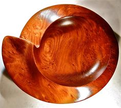 Beautiful Hand Turned Redwood Bowl form Tridentturnings.