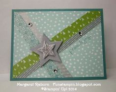 Made a variation of this design. Card from Margaret Raburn @ Fun Stampin' with Margaret.